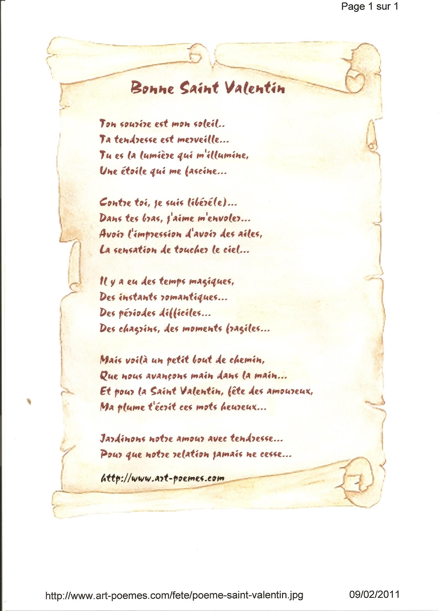 petit poeme sur une rencontre
